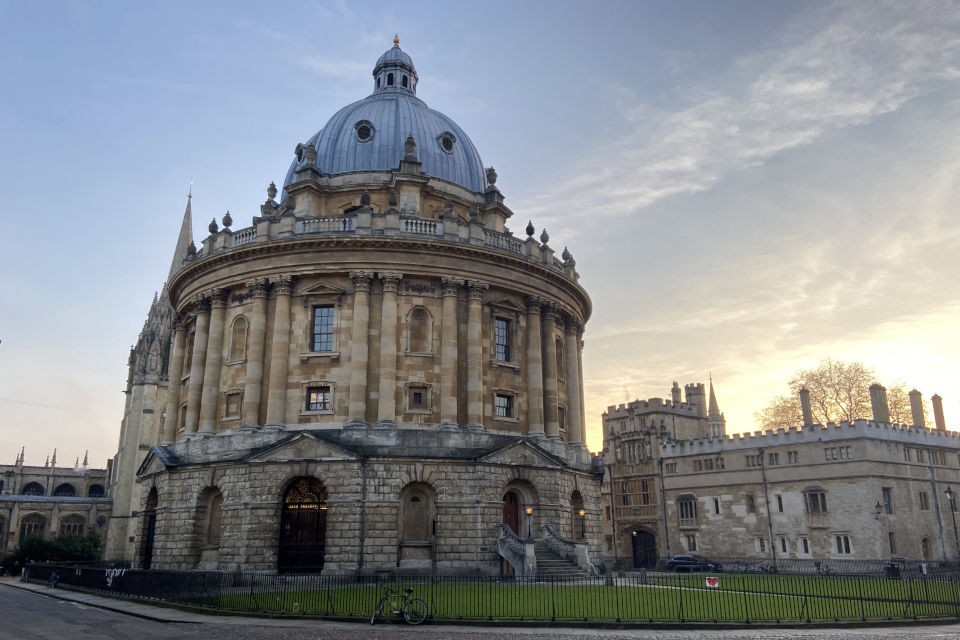 Radcliffe Camera sunrise Oxford Tutors admissions applications